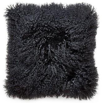 Jonathan Adler Mongolian Lamb Hair Throw Pillow
