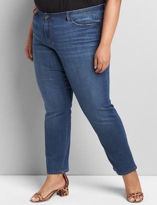 Lane Bryant Lane Essentials Venezia Straight Jean