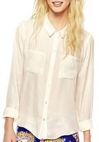 JCPenney Olsenboye® Button-Front Roll-Tab Shirt