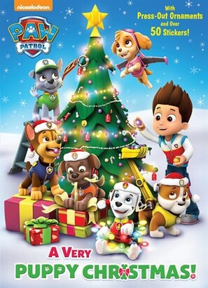 Golden Books A Very Puppy Christmas! (paw Patrol)