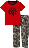True Religion Crossbone Tee & Camo Pant Set (Toddler Boys)