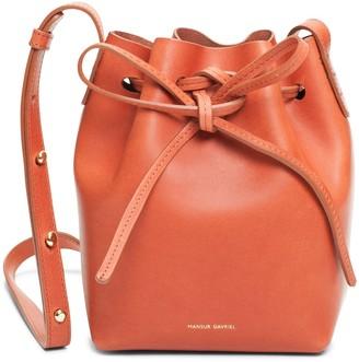 Mansur Gavriel Brandy Mini Mini Bucket Bag - Raw