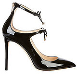 Jimmy Choo Sage Bow Patent Leather Pumps