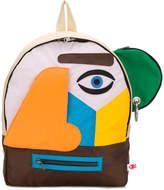 Walter Van Beirendonck abstract backpack