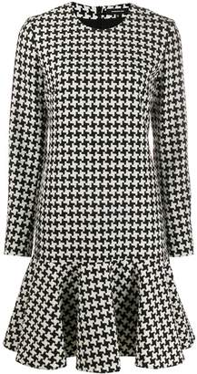 Barbara Bui houndstooth pattern dress