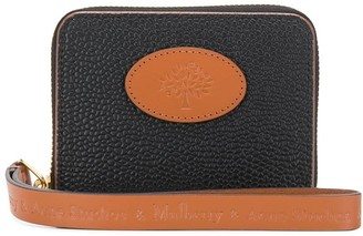 Acne Studios x Mulberry small zip-around scotchgrain wallet
