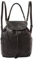 Liebeskind Berlin Ida Medium Leather & Pony Hair Backpack