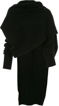 Isabel Benenato draped sweater