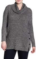 Lucky Brand Alyssa Button Side Pullover (Plus Size)
