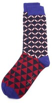 Ted Baker Cold Zig Zag Socks