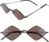 Saint Laurent 55mm Diamond Shaped Sunglasses