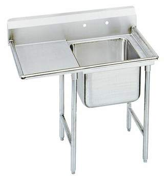 Advance Tabco T-9 Series 81'' x 27'' Free Standing Service Sink Advance Tabco