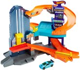 Hot Wheels Workshop Track Builder Speedtropolis Playset