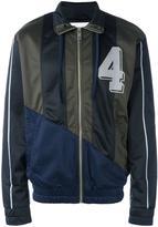Han Kjobenhavn panelled track jacket