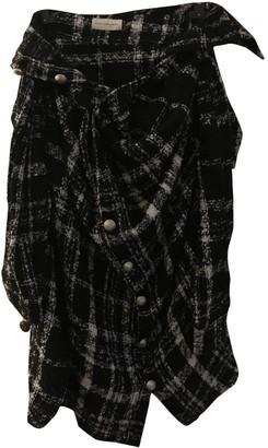 Faith Connexion Black Wool Skirt for Women