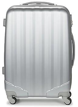 David Jones CHAUVETTA 64L women's Hard Suitcase in Silver