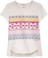 Roxy Alpine Graphic-Print T-Shirt, Girls (7-16)