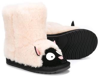 Emu sheep snow boots