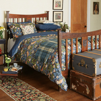 Morris & Co - Strawberry Thief Duvet Cover - Indigo - Double