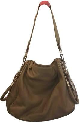 Jil Sander Beige Leather Handbags