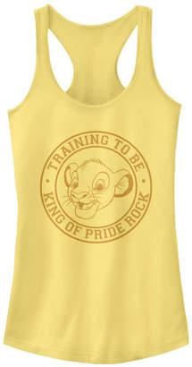 Disney Juniors' Lion King Pride Rock Ideal Racerback Tank Top