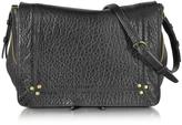 Jerome Dreyfuss Igor Black Leather Crossbody Bag