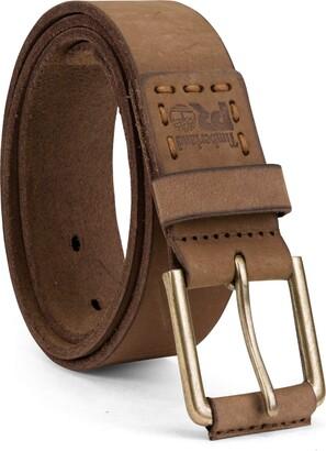 Timberland Men's Big & Tall 40mm Workwear Leather Belt
