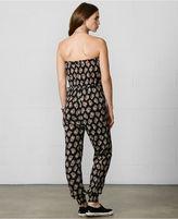 Denim & Supply Ralph Lauren Strapless Floral-Print Jumpsuit