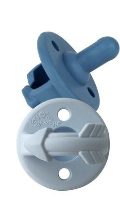 Itzy Ritzy Sweetie Soother - Blue - 2 Pack Pacifier Set