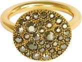 Adore Metallic Pave Disc Ring