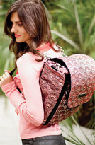 Petunia Pickle Bottom Infant 'Boxy' Brocade Backpack Diaper Bag - Yellow