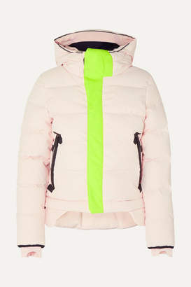 TEMPLA Nano Hooded Quilted Shell Down Coat - Blush