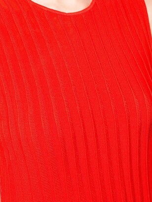 Carolina Herrera Pleated Tank Dress