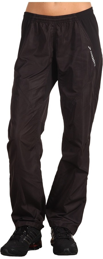 Brooks Essential Run Wind Pant (Black) - Apparel
