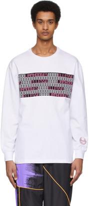 Liam Hodges White Ellesse Edition Digital Long Sleeve T-Shirt