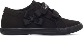 Lelli Kelly Kids Lily canvas school shoes 3-9 years, Size: EUR 27 / 9 UK KIDS, Black