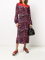 Schumacher Dorothee Artsy Flower midi dress