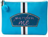 Tricoastal Design Tri-Coastal Design ''Pardon Me'' Oversized Pouch Cosmetic Bag