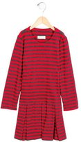 Helena Girls' Striped Pleated Dress w/ Tags
