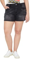 Thumbnail for your product : Rock and Roll Cowgirl High-Rise Denim Shorts in Steel Wash 68H8202