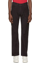 Gosha Rubchinskiy Black Levis Edition Corduroy 505c Jeans