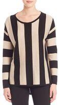 Max Mara Morgan Striped Silk & Cashmere Sweater