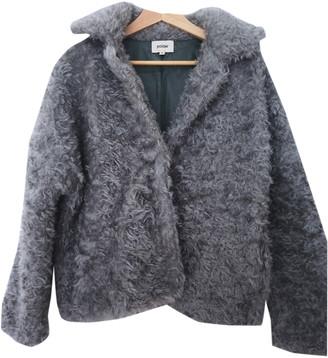 Polder Grey Wool Coats