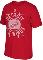 Reebok Men's Detroit Red Wings Skate the Circles Tee