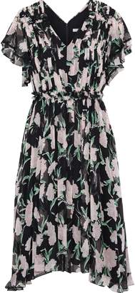 Jason Wu Ruffled Floral-print Silk-georgette Dress