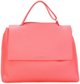 Orciani top flap shoulder bag