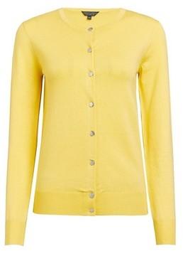 Dorothy Perkins Womens Yellow Core Cardigan, Yellow
