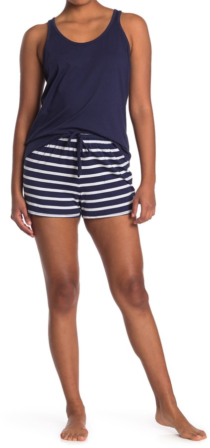 Nautica Tank & Shorts 2-Piece Pajama Set