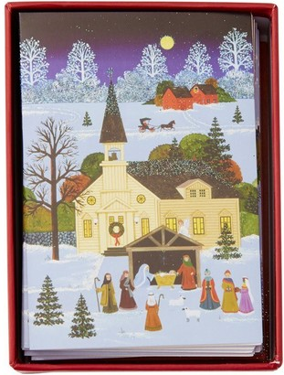 Peter Pauper Press Nativity Small Country Boxed Notes Set of 20