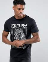 Replay Snake Print T-shirt